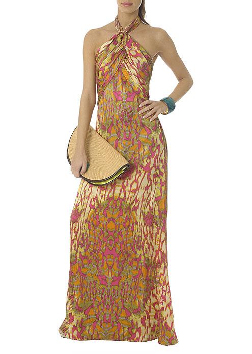 Długie sukienki od Mango