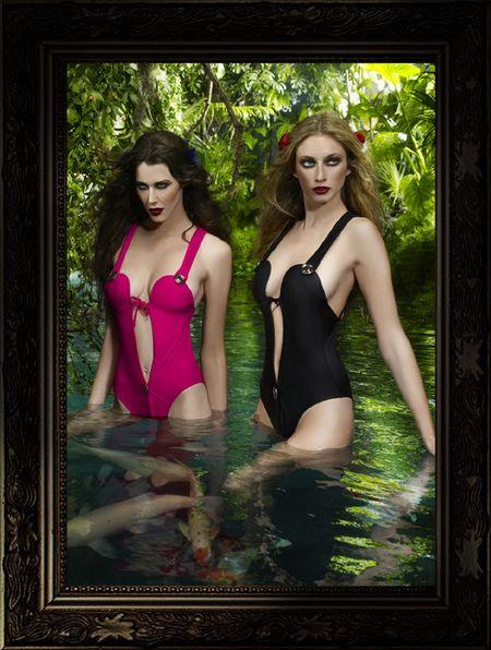 Kostiumy kąpielowe od Agent Provocateur
