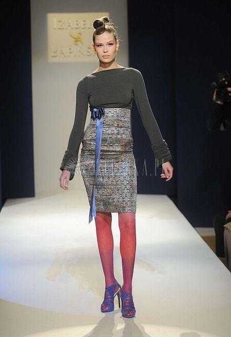 Pokaz mody Izabeli Łapińskiej