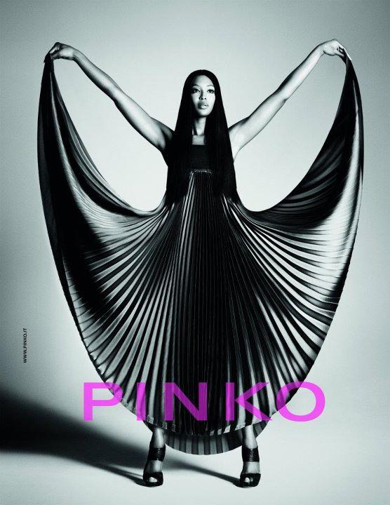 Naomi Campbell dla Pinko