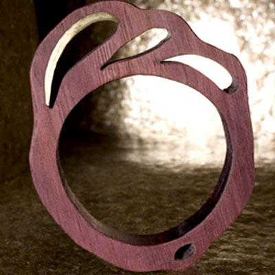 Drewniana biżuteria Heather Kosch