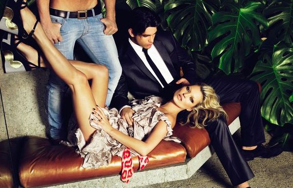 Seksowna kampania Just Cavalli z Kate Moss