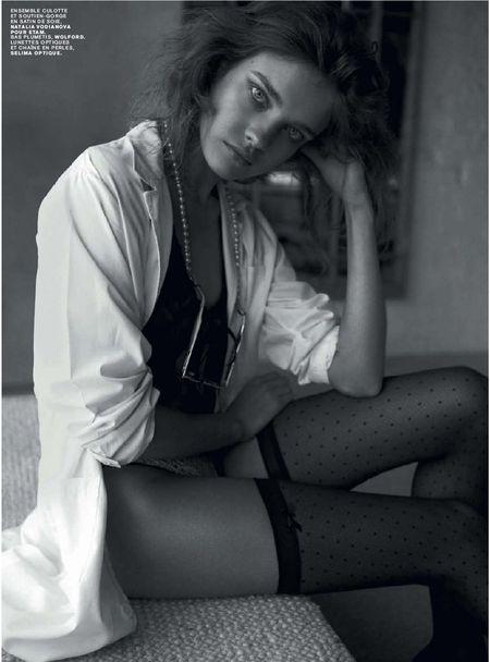 Natalia Vodianova dla Jalouse