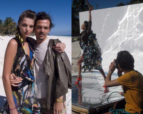 Daria Werbowy twarzą kolekcji H&M
