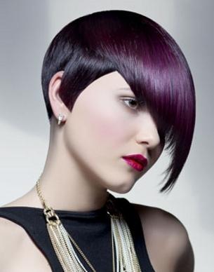 Cięcia dla krótkich włosów 2012