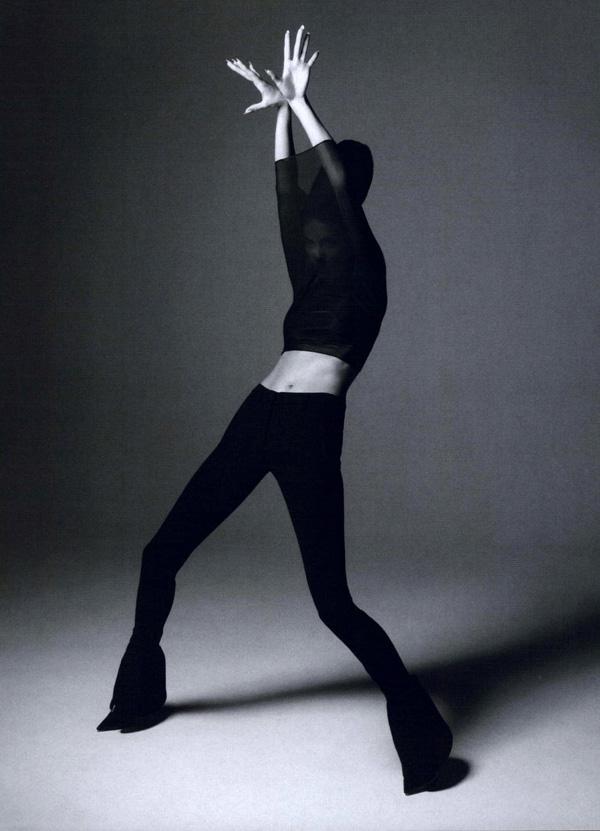 Anja Rubik w Muse Magazine