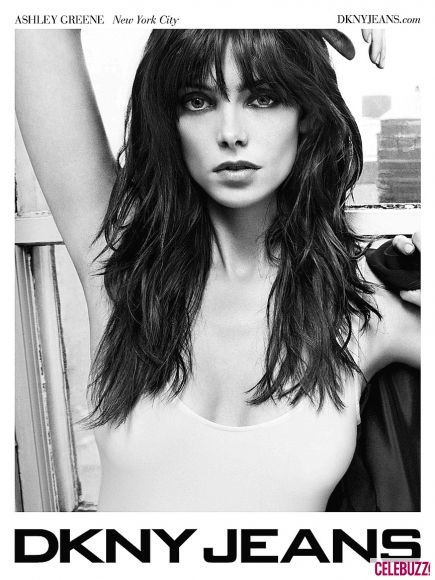 Ashley Greene dla DKNY Jeans