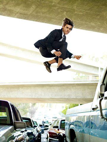 Zac Efron jest gorrrący!