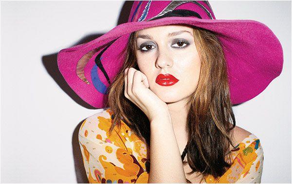 Kolorowa Leighton Meester