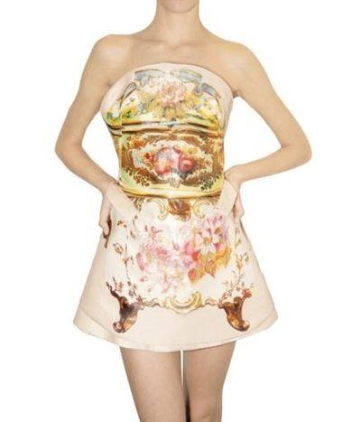 Marysia Niklińska w sukience a'la Cavalli