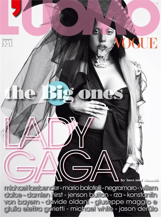 Lady GaGa dla L'Uomo Vogue