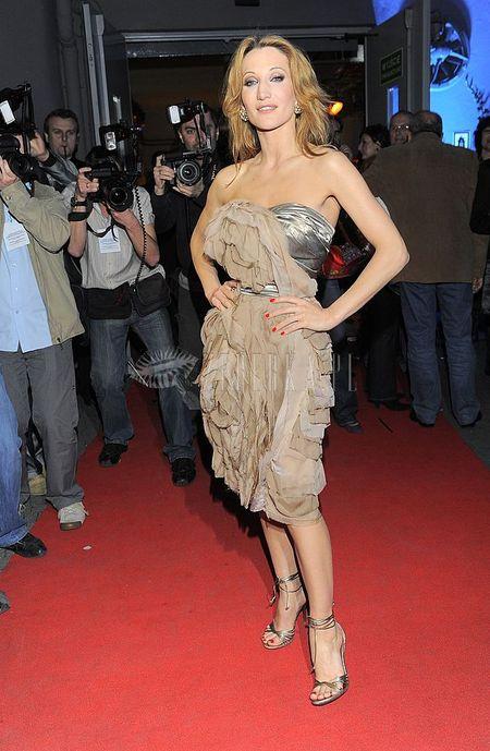 Justyna Steczkowska w sukience od Zienia