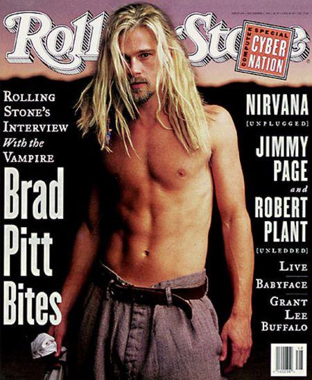 Brad Pitt dla Rollin Stone