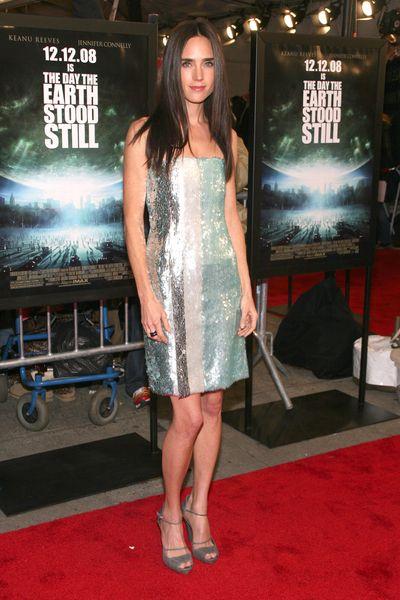 Jennifer Connelly w cekinach