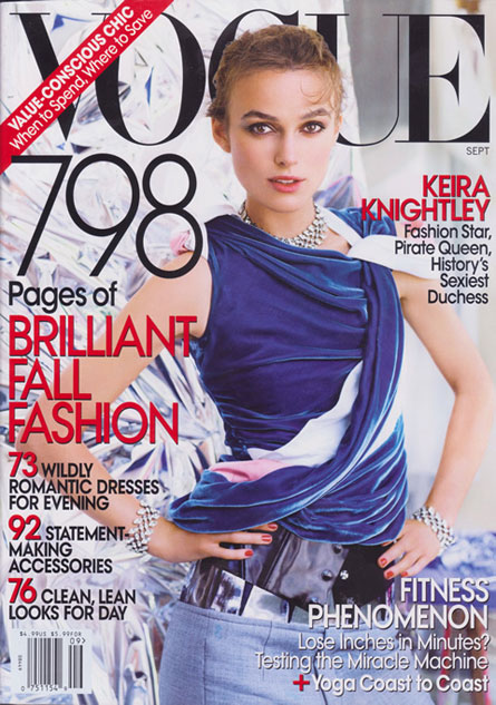 Keira Knightley w Vogue