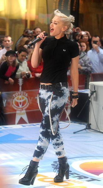 Gwen Stafani i jej cieniowane dżinsy