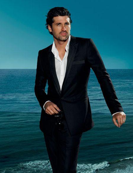 Patrick Dempsey dla Versace