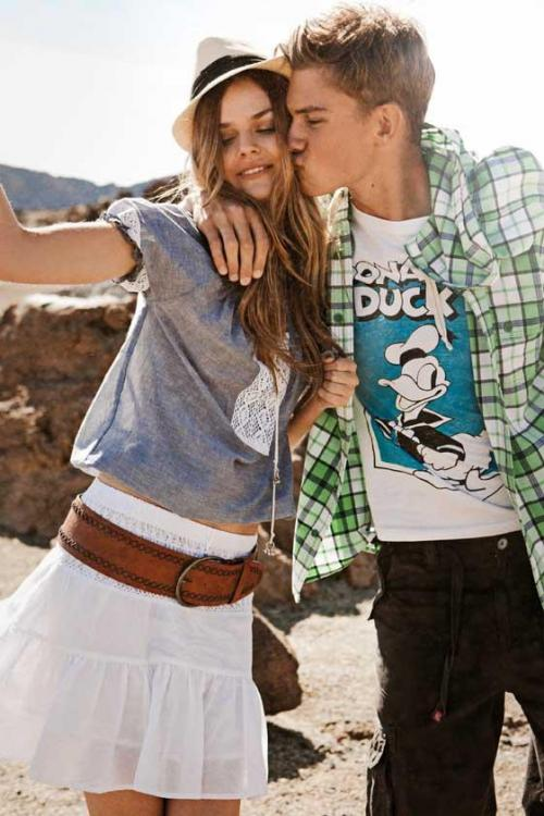 как сшить модные джинсы для девочки.