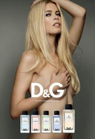 Schiffer, Campbell i Herzigova nago dla D&G