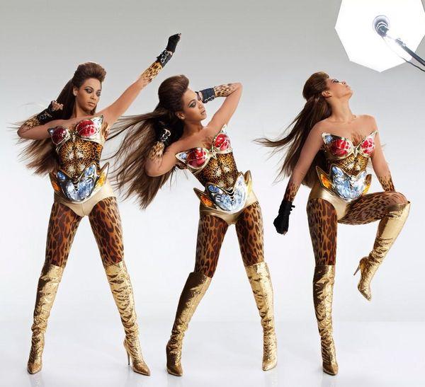 Beyonce jako tygrysica
