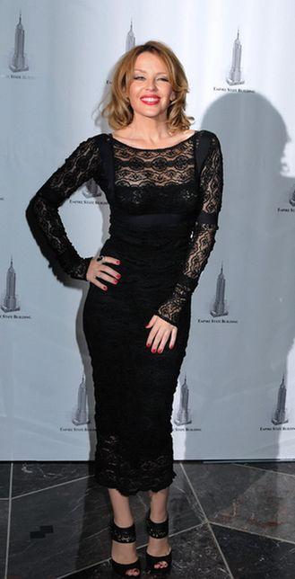 Seksowna Kylie Minogue działa charytatywnie