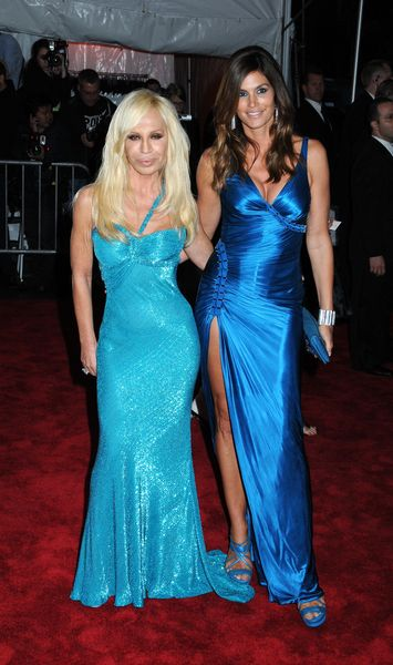 Donatella Versace w swoim stylu
