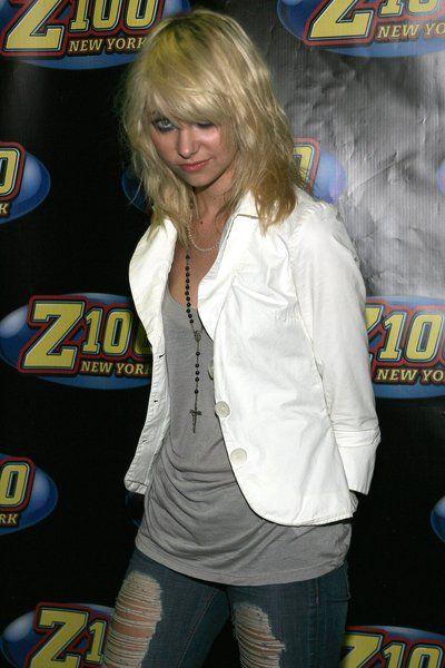 Podarte dżinsy Taylor Momsen