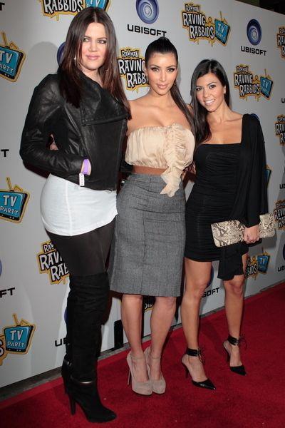 Kim Kardashian w sukience D&G