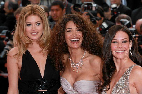 Kroes, Jnifen i Lilly kusiły w Cannes