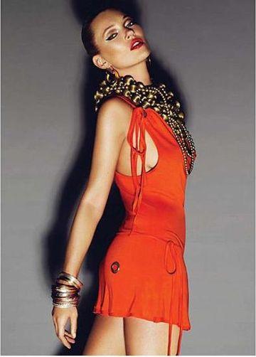 Kate Moss w letniej kampanii Topshop