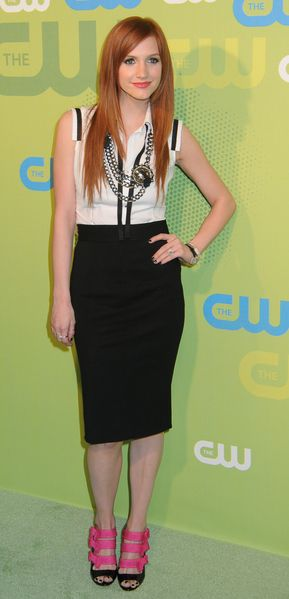 Czarno-biała Ashley Simpson