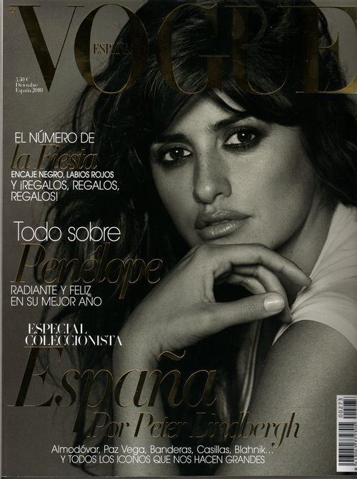 Penelope Cruz dla Vogue Espana