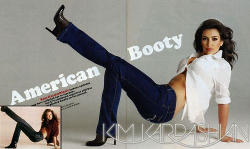 Kim Kardashian jako Brooke Shields