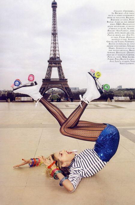 Anja Rubik po raz pierwszy we francuskim Vogue'u