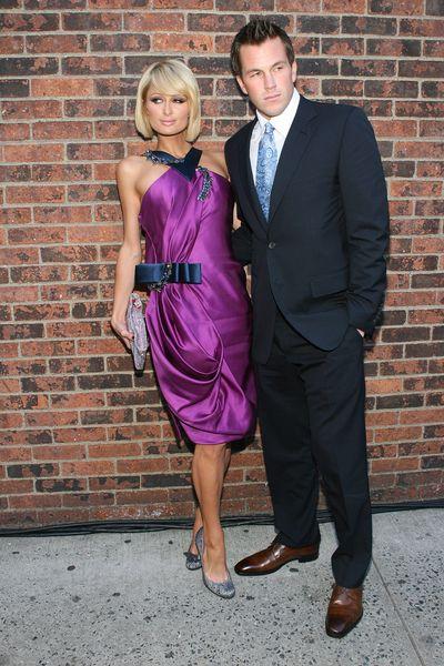 Paris Hilton na fioletowo