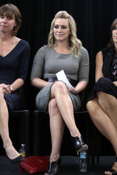 Hilary Duff zrobiona na szaro
