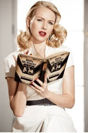 Naomi Watts w starym stylu