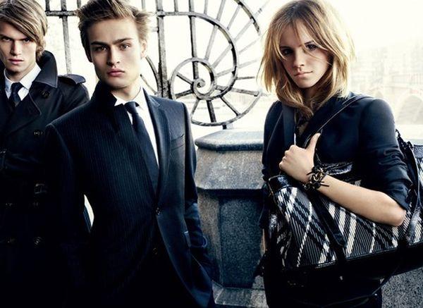 Emma Watson dla Burberry
