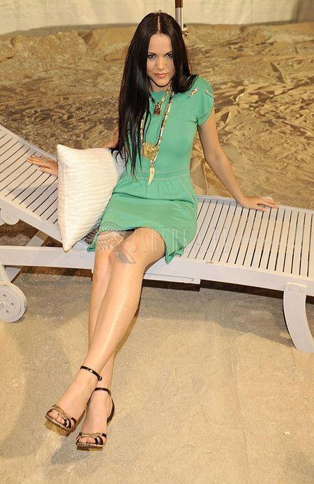 Dominika Gawęda w kolorze morza