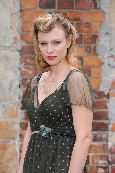 Magdalena Boczarska w stylu retro