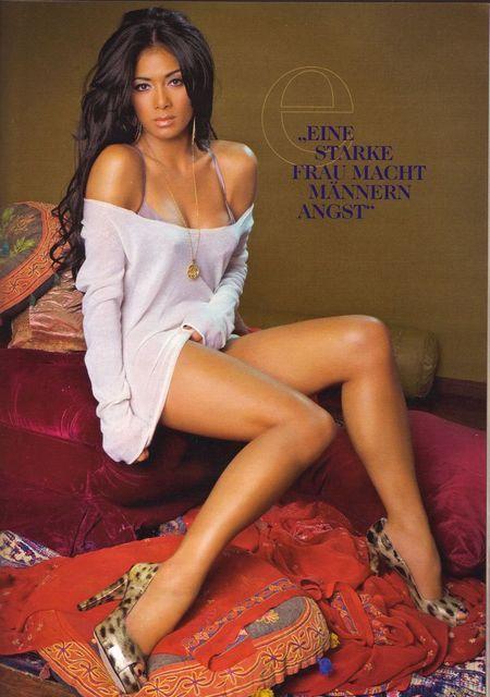 Nicole Scherzinger w Maximie