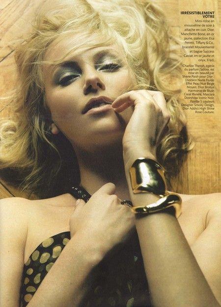 Charlize Theron w świecie Diora