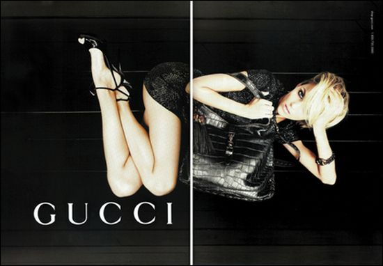 Anja Rubik twarzą Gucci