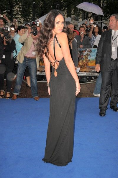 Megan Fox w eleganckiej czerni