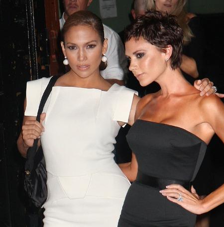 Victoria Beckham i Jennifer Lopez