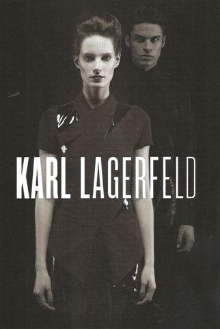 Iris Strubegger w kampanii Lagerfelda