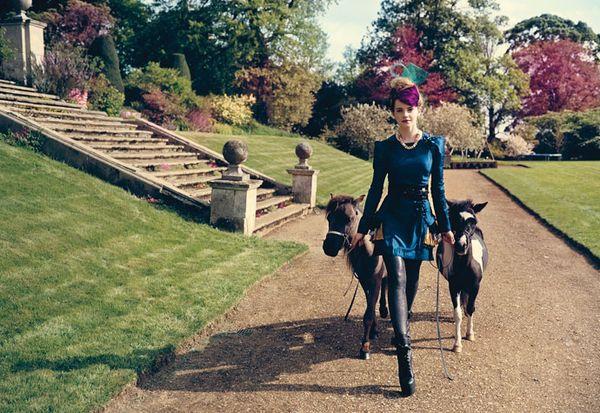 Elegantka Emma Watson