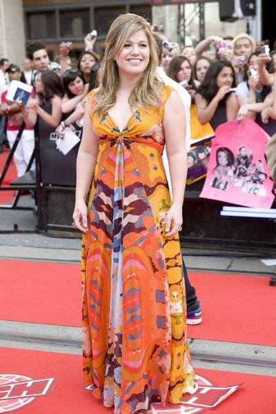 Kelly Clarkson wybrała dobry krój