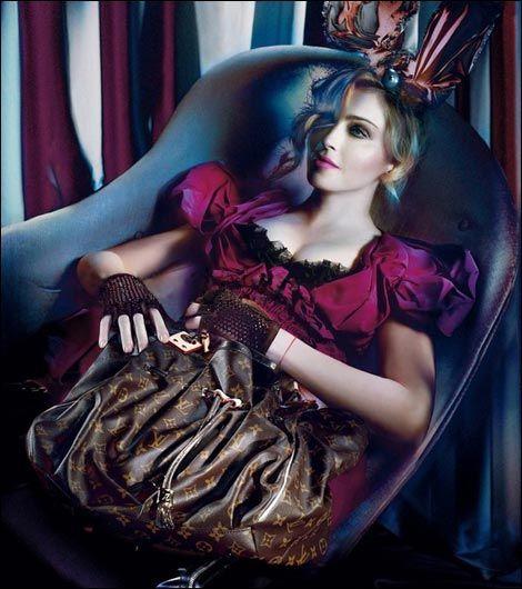 Sztuczna Madonna dla Louis Vuitton