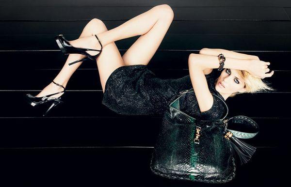 Gucci Pre-Fall 2009 Campaign by Inez & Vinoodh Anja Rubik.  2.